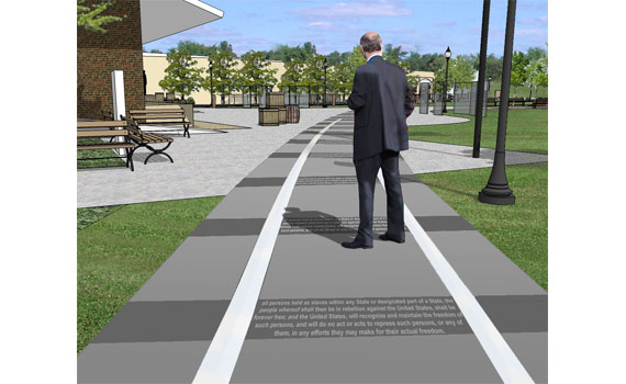 Lincoln Plaza Design and Interpretive Plan