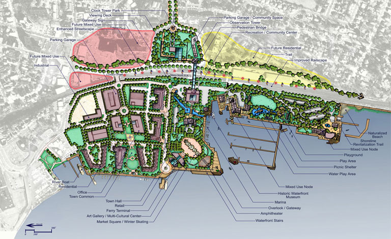 Waterfront | Waterfront Master Plan - Tarrytown-on-Hudson, New York