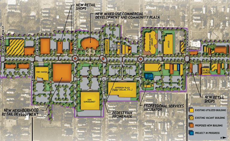 Economic Development | CARE Area Neighborhood Revitalization and Market Study - Buffalo, New York