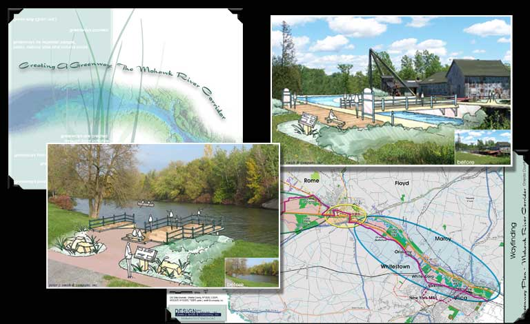Blueway, Greenway & Byway Corridors | Creating a Greenway:  The Mohawk River Corridor - Oneida County, New York