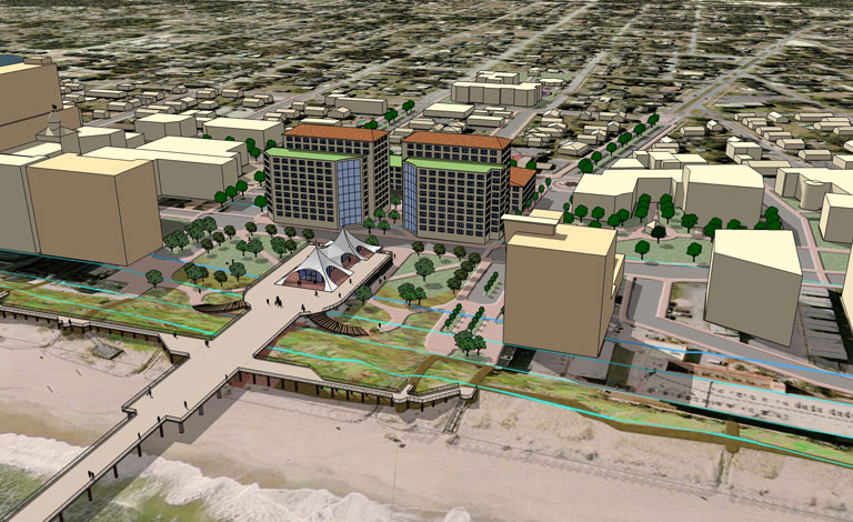 Urban Design | Master Development Plan - Carolina Beach, North Carolina